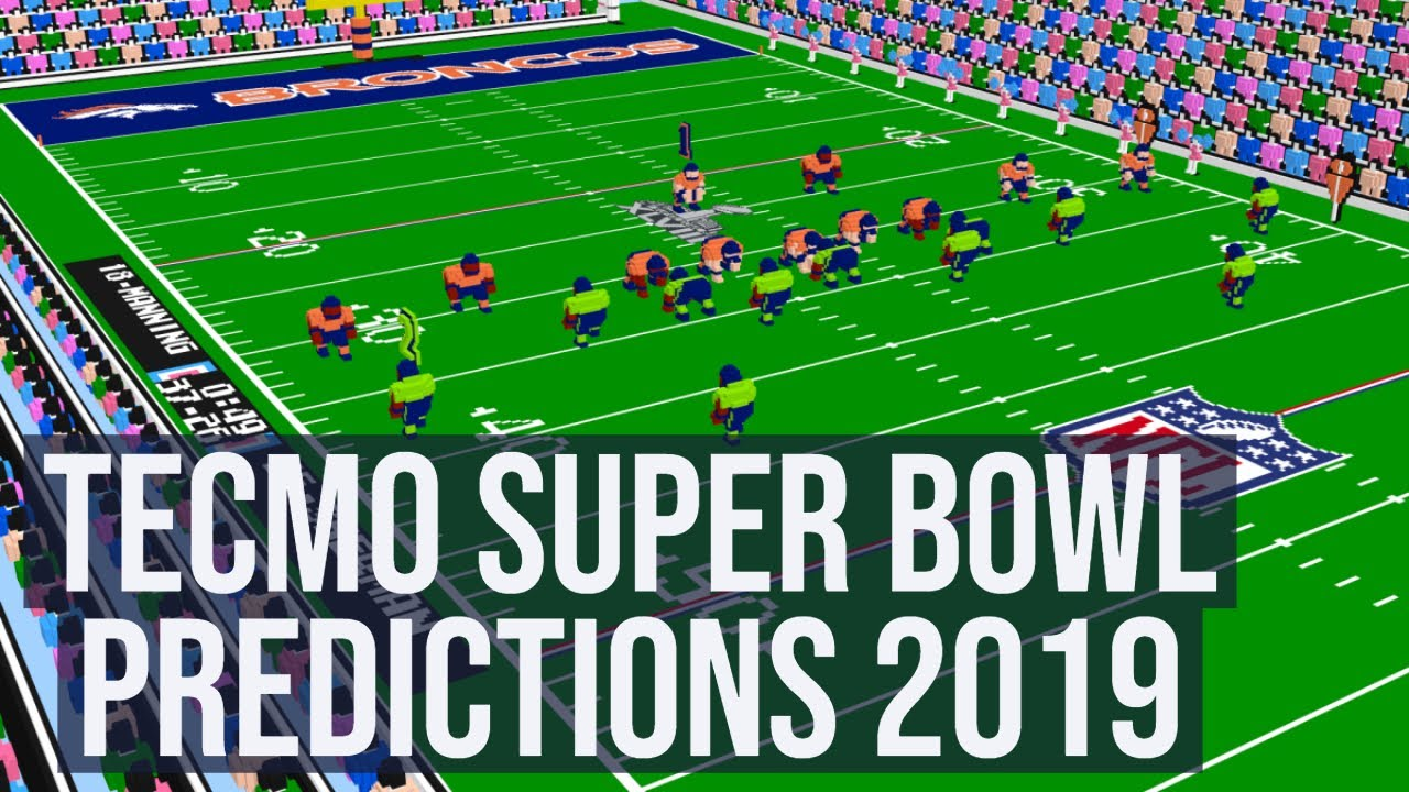Annual Escape Show Tecmo Super Bowl Predictions 2019
