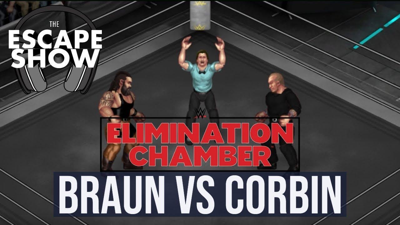 WWE Elimination Chamber 2019 Predictions: Braun Strowman vs Baron Corbin