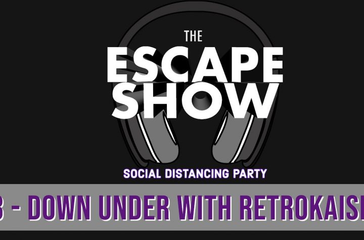 Social Distancing Party Podcast #3 - Down Under With RetroKaiser